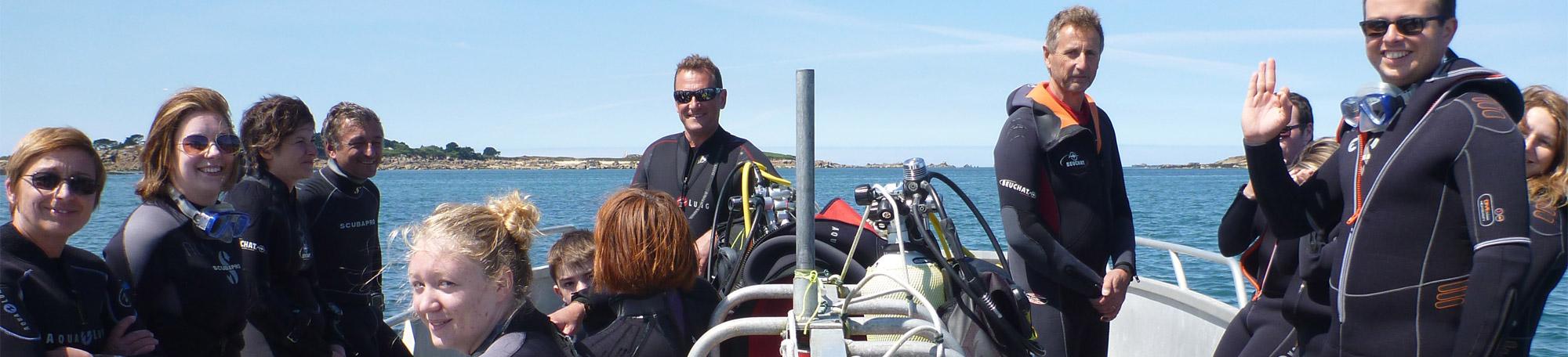 Plongeur adhérent annuel à Carantec