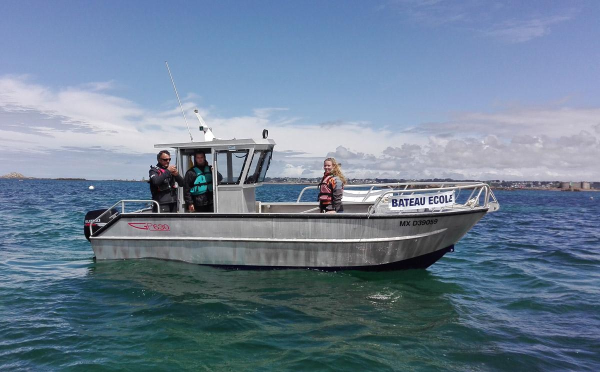 Cours pratiques pour le permis côtier