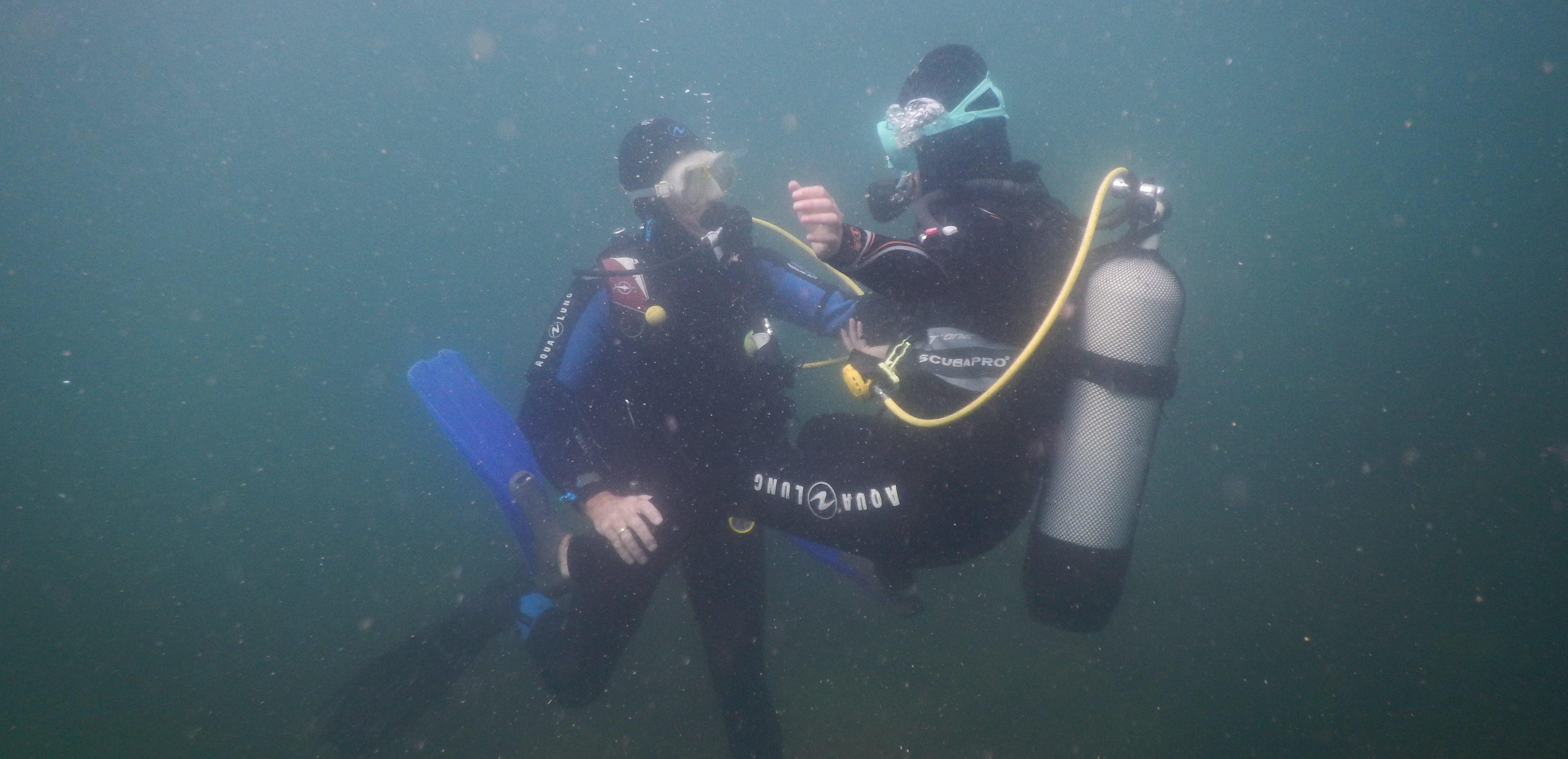 Stage formation plongée plongeur encadré 40m PE40FFESSM en Baie de Morlaix